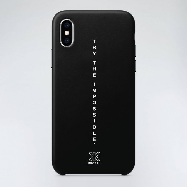Quote phone case | black
