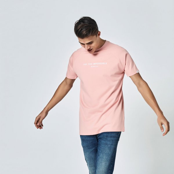 Quote tee pink | regular fit