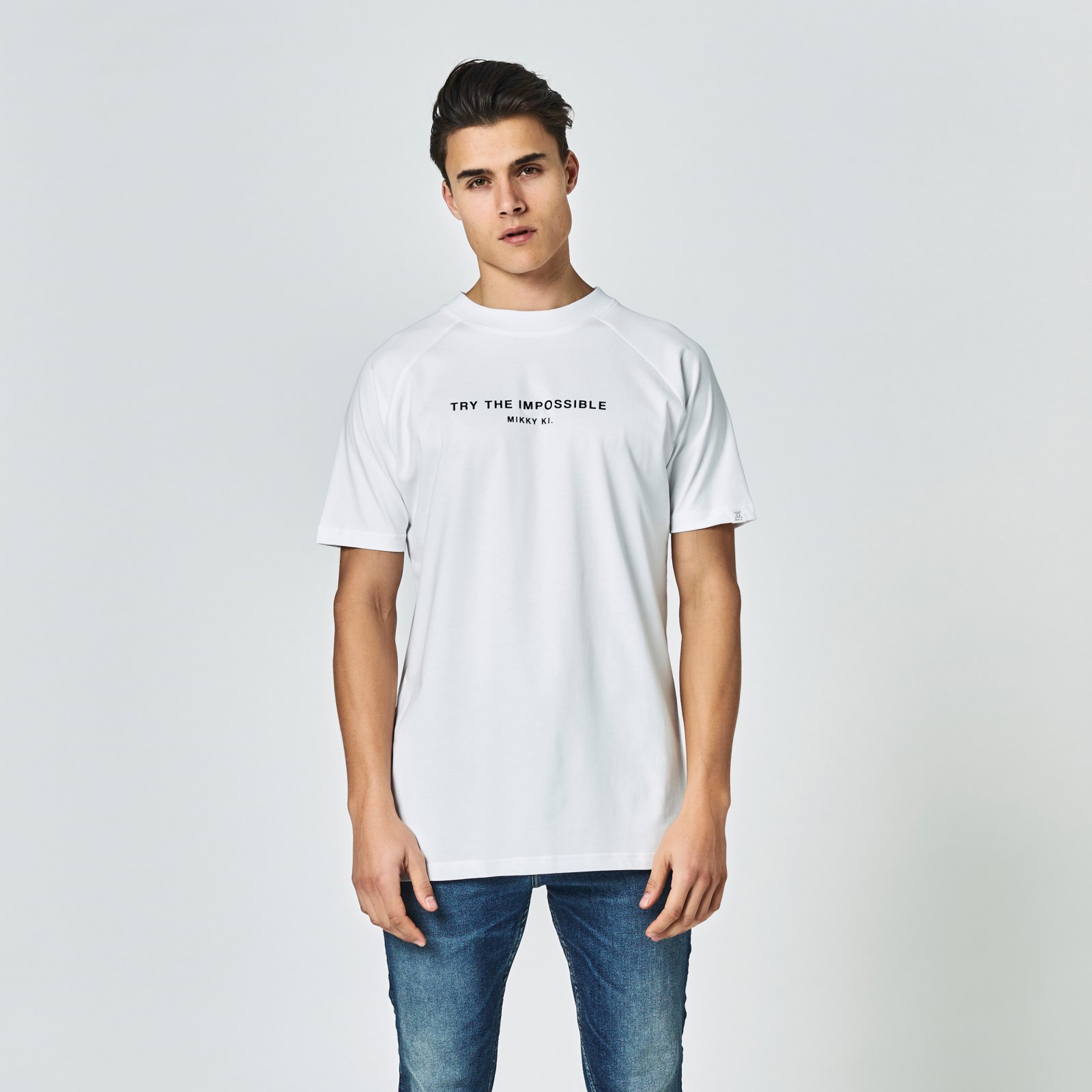 Quote tee white | regular fit