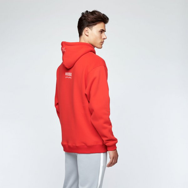 Appie hoodie | red