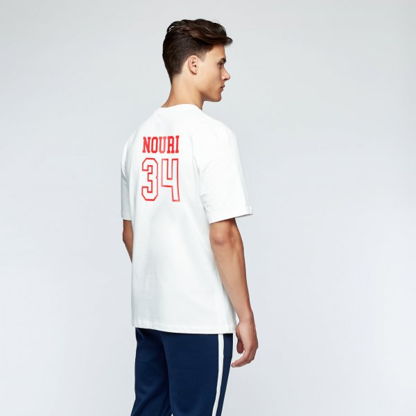 Appie 34 tee back | white