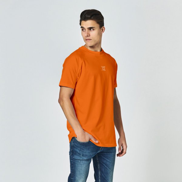Icon tee orange | regular fit