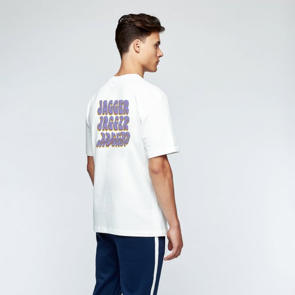 Jagger tee back | white