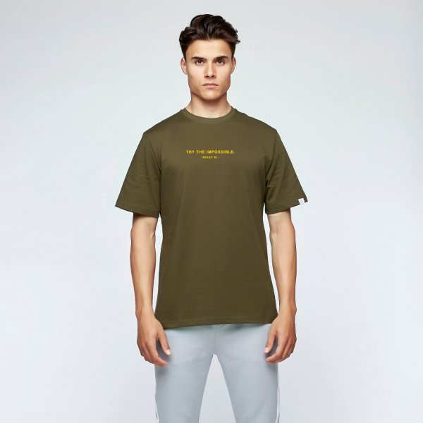 Quote tee army green | unisex