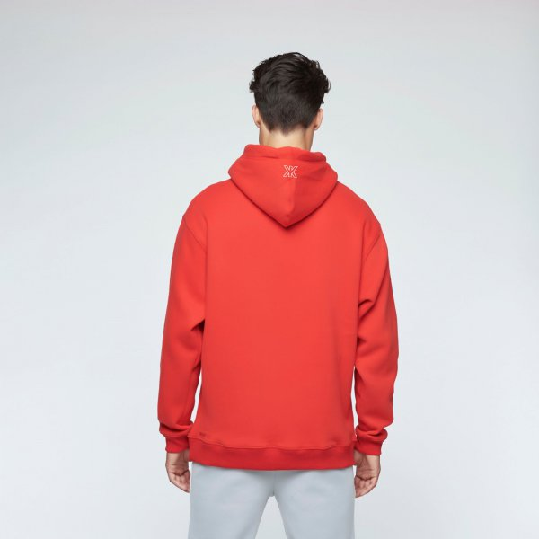 Quote hoodie red | unisex